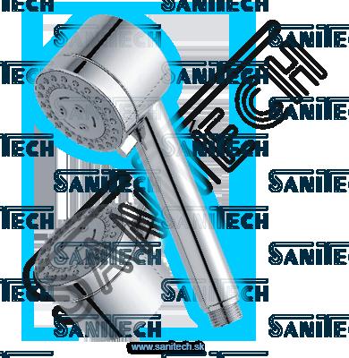 Ručná sprcha TECHNO 65 chróm: RS 17