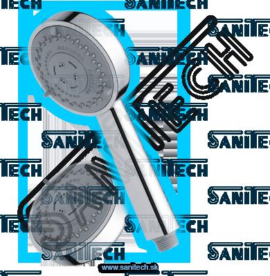 Ručná sprcha XL TECHNO 95 chróm: RS 27